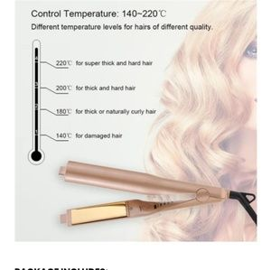 2-IN-1 TWIST STRAIGHTENING AND CURLING